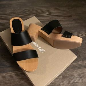 Madewell clara crog sandal